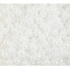 Seedbead Opaque pearl White 4/0